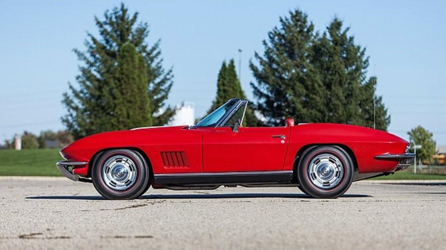 Gus Grissom S Corvette To Go Under The Hammer Autoevolution