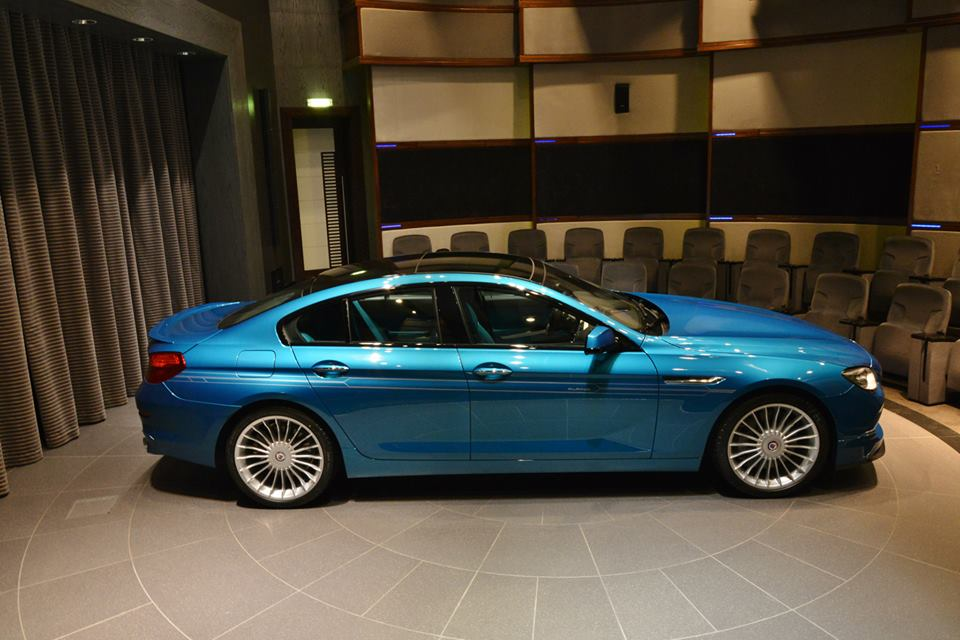 BMW Alpina B6 >> Atlantis Blue Alpina B6 Gran Coupe with Matching Interior Is Stunning in Abu Dhabi - autoevolution