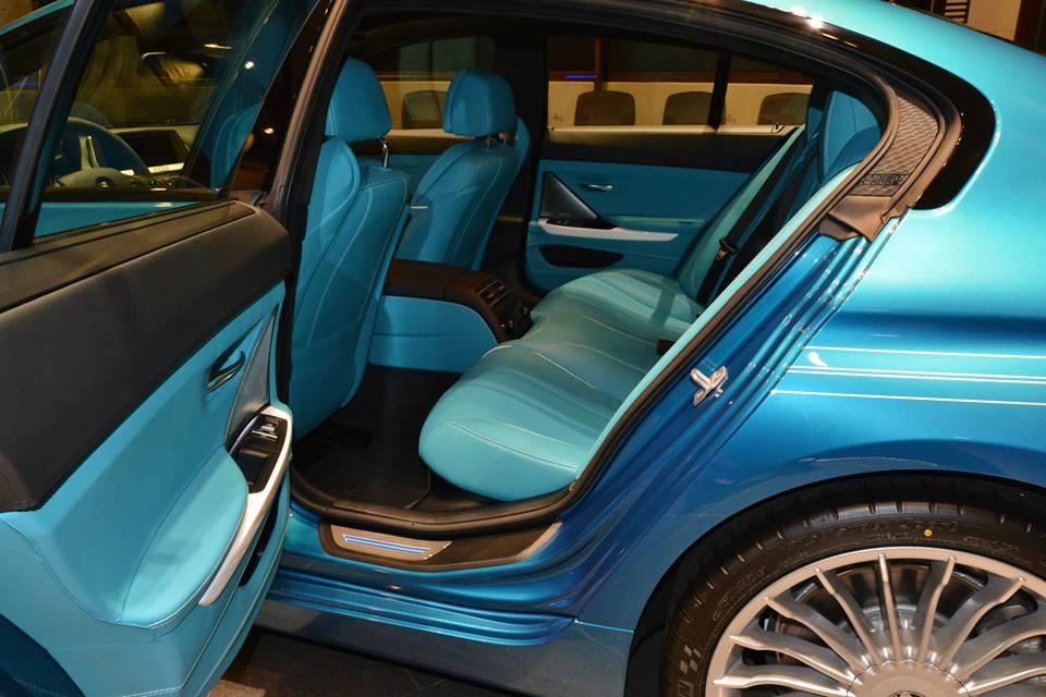 Bmw B6 Alpina >> Atlantis Blue Alpina B6 Gran Coupe with Matching Interior ...
