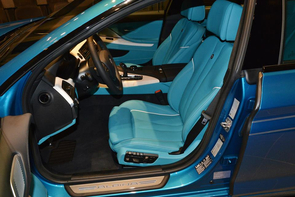 BMW Alpina B6 >> Atlantis Blue Alpina B6 Gran Coupe with Matching Interior ...