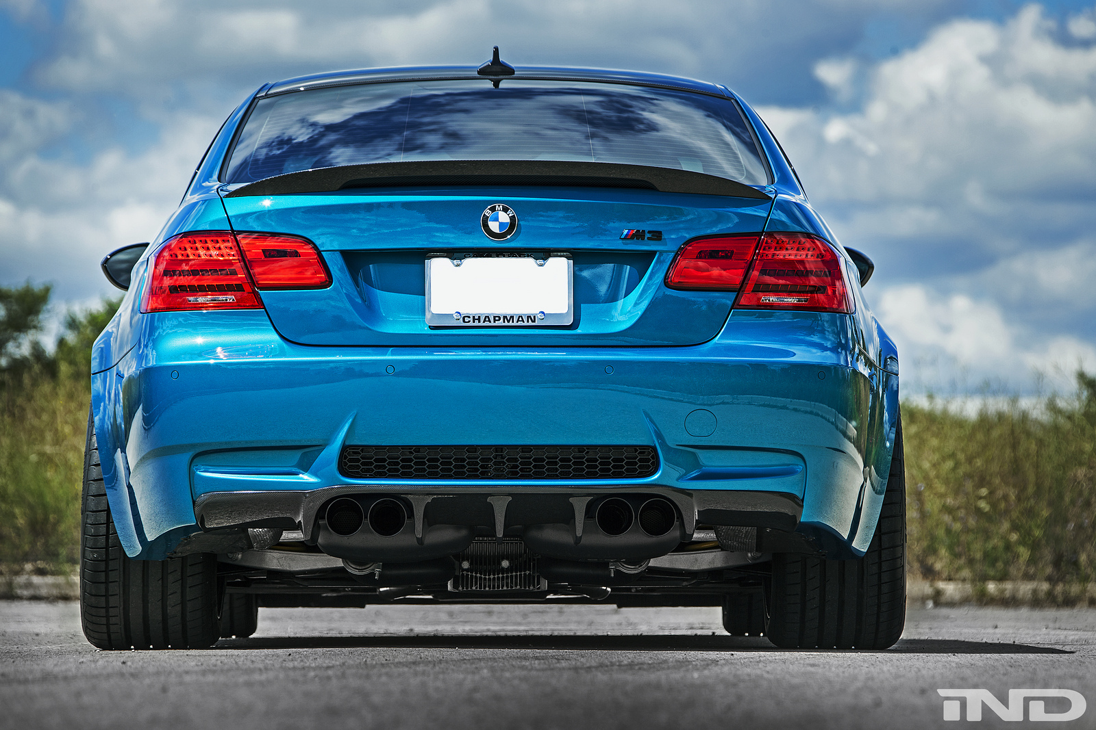 Atlantis Blue BMW E92 M3 from iND Looks Stunning ...