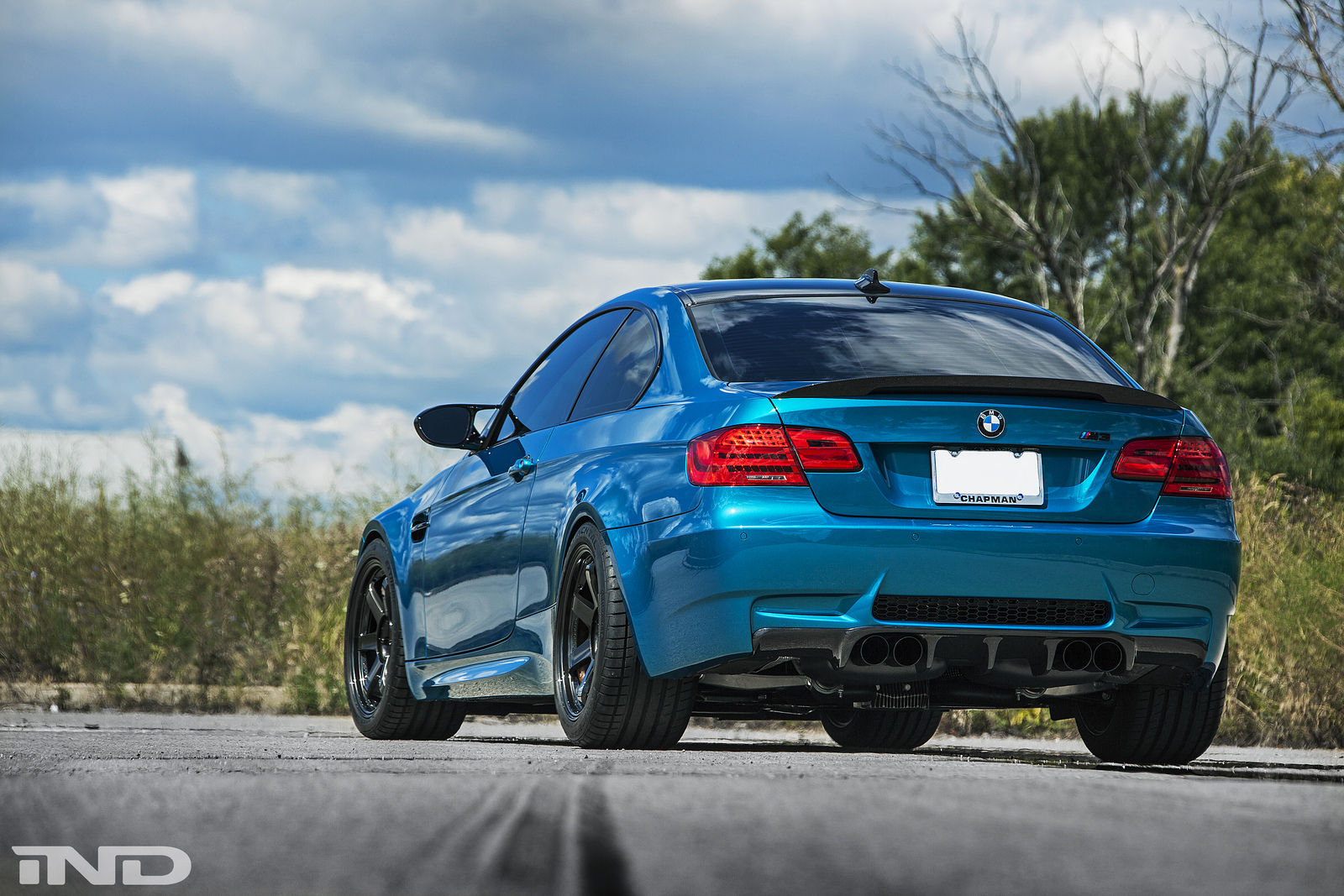 Atlantis Blue Bmw E M From Ind Looks Stunning Photo Gallery on Bmw M3 E92