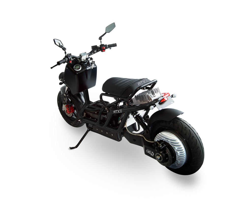 Ruckus Scooter Black