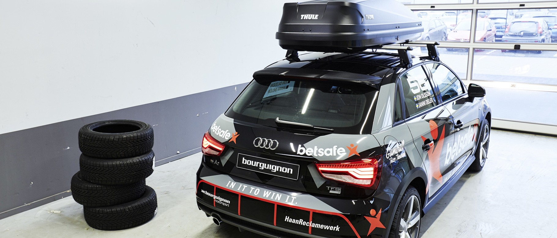 Audi A1 Gets Makeover Inspired By Jon Olsson S Gumball Rs6