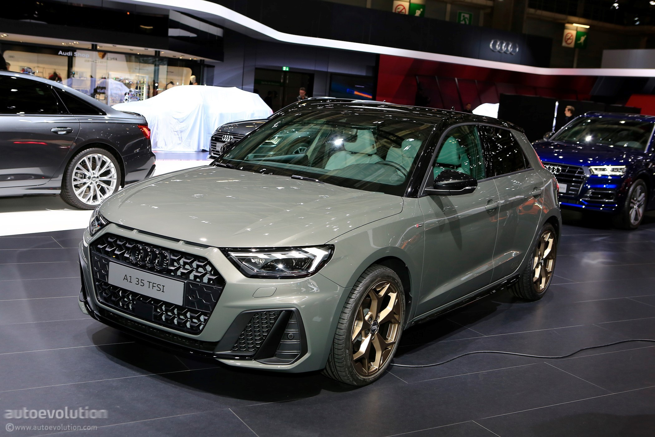 2018 Paris Motor Show: New Audi A1 Sportback Looks Very ...