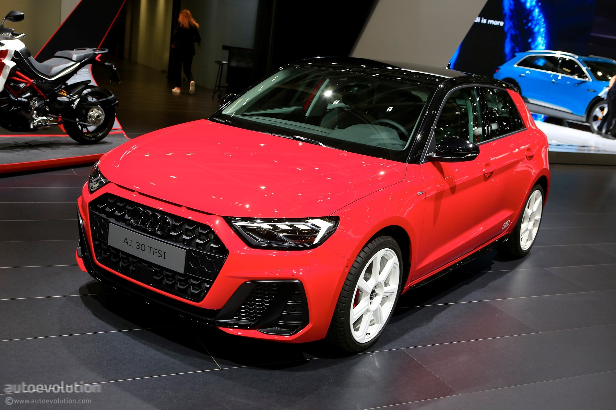 2018 paris motor show new audi a1 sportback looks very premium autoevolution. Black Bedroom Furniture Sets. Home Design Ideas