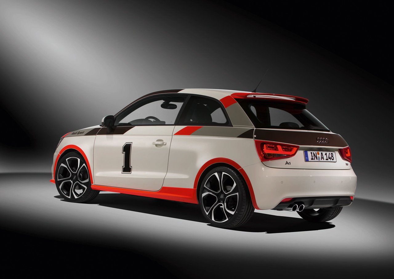 audi a1 receiving competition kit in paris autoevolution. Black Bedroom Furniture Sets. Home Design Ideas