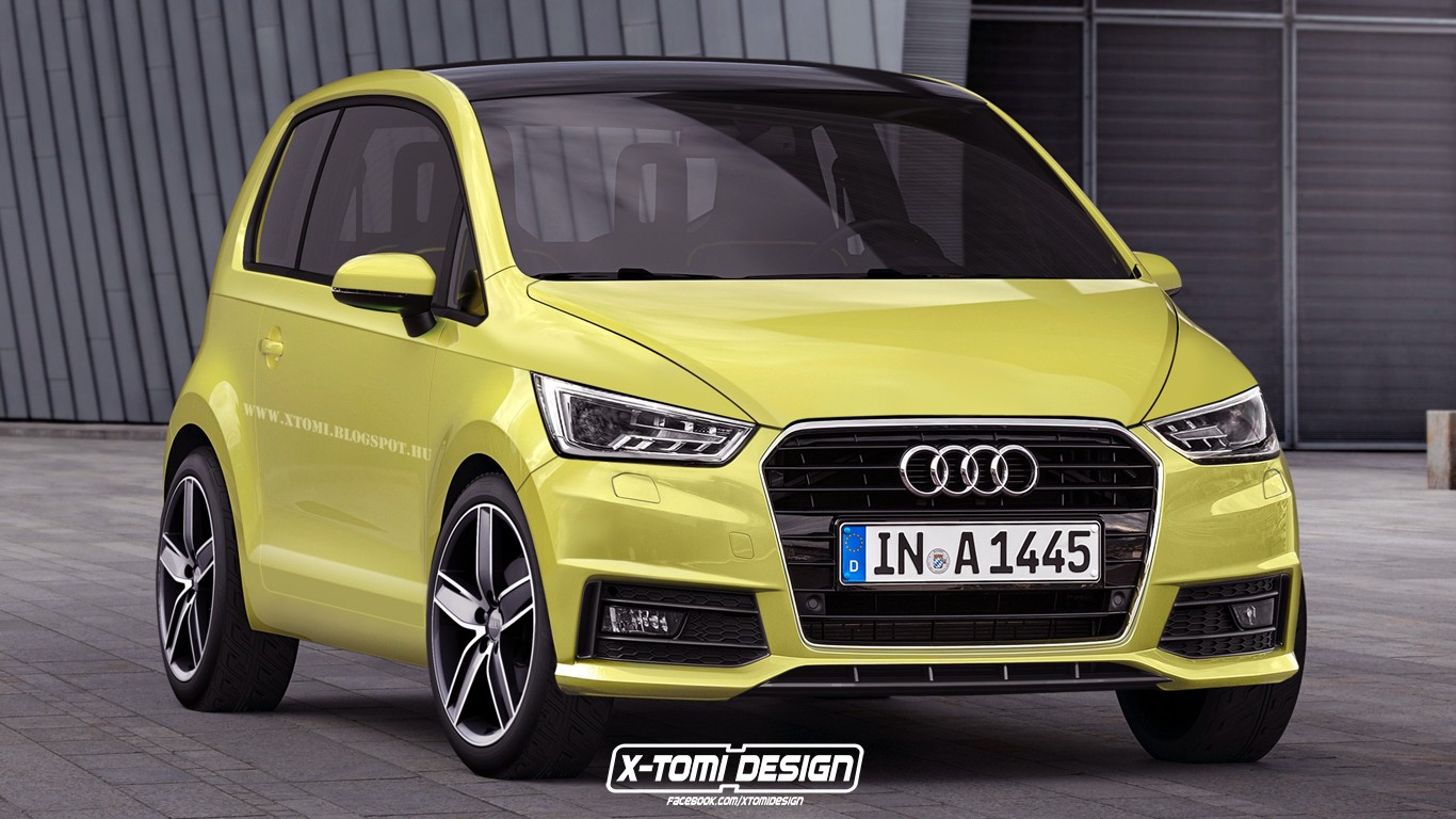 audi a2 future successor rendered looks perfectly viable. Black Bedroom Furniture Sets. Home Design Ideas