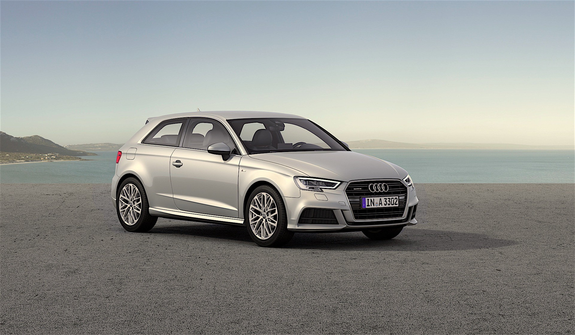 Audi A Got A Facelift And Looks Like A Smaller A But Comes With - Audi a3 audi a4