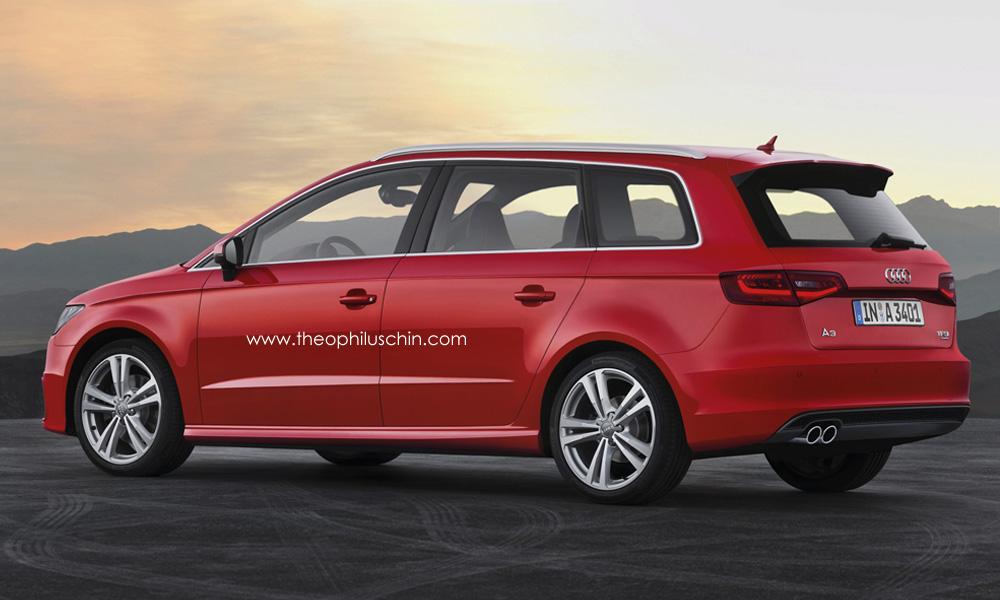 Audi A3 Mpv Avant Rendering Autoevolution