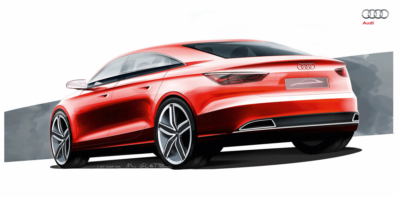 Audi A Sedan Concept To Bring Hp To Geneva Autoevolution - Audi car design