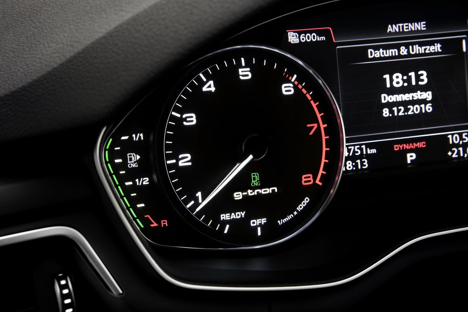 audi a4 avant and a5 sportback g tron launched run on audi e