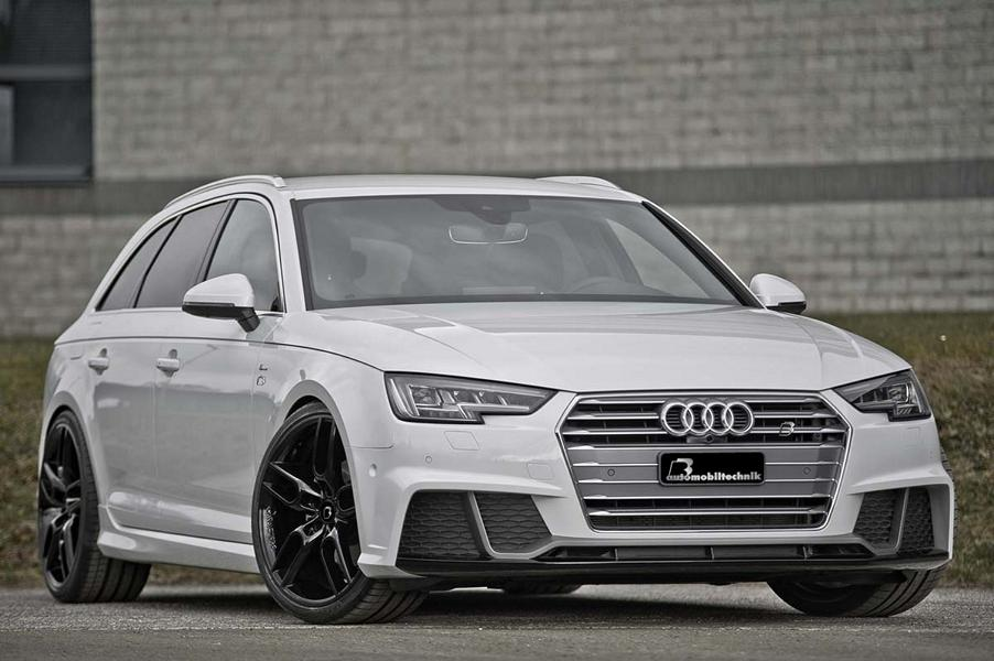 2017 Audi A4 Avant Tuned By B Automobil Technik Pushes The Right Ons