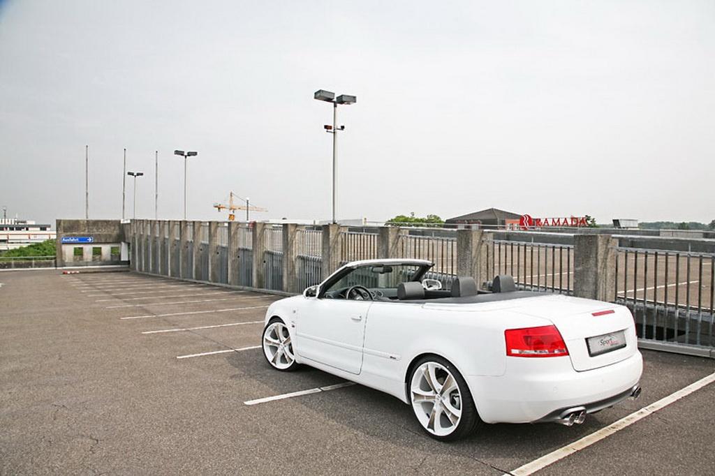 audi a4 cabrio tuned by sport wheels autoevolution. Black Bedroom Furniture Sets. Home Design Ideas
