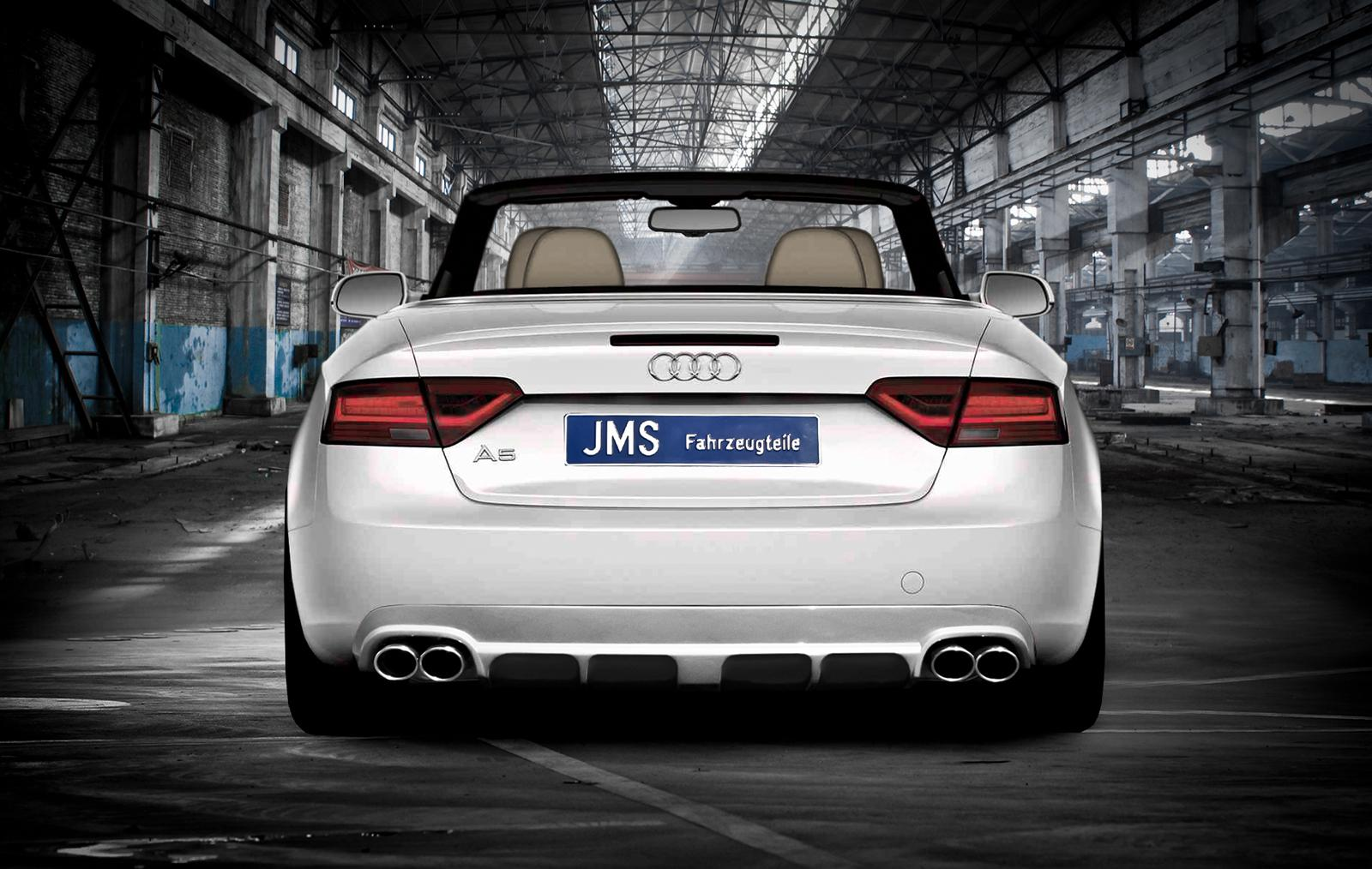audi a5 cabrio by jms autoevolution. Black Bedroom Furniture Sets. Home Design Ideas