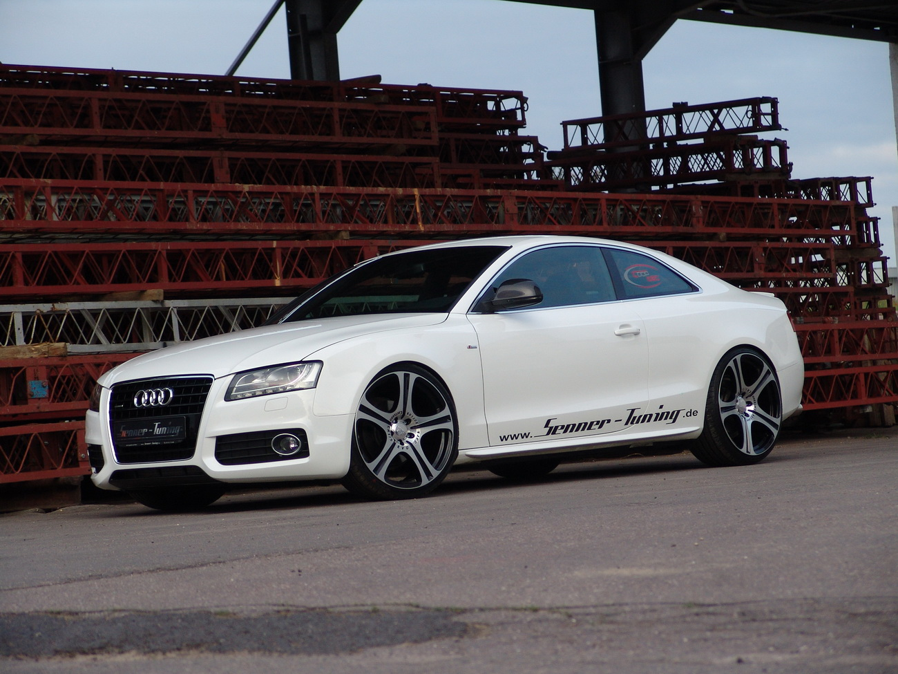 audi a5 coupe sports package by senner autoevolution. Black Bedroom Furniture Sets. Home Design Ideas