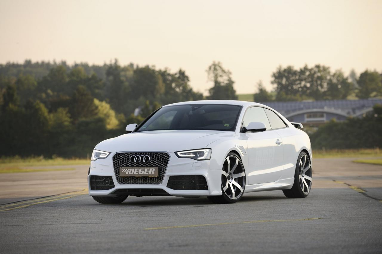 audi a5 gets rs5 look from rieger autoevolution. Black Bedroom Furniture Sets. Home Design Ideas
