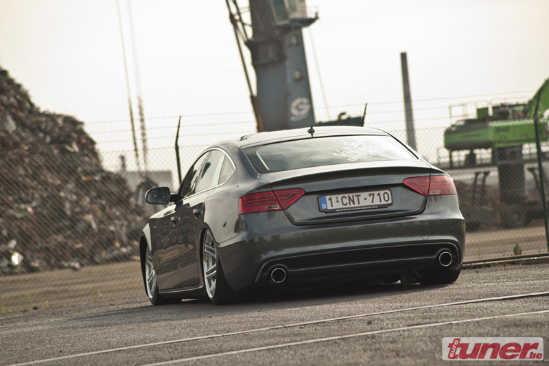 Audi A5 Sportback With Air Suspension And 22 Inch Wheels