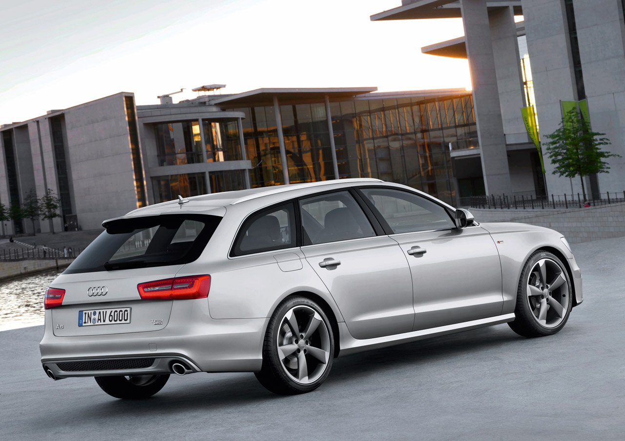 audi a6 avant full details and photos autoevolution. Black Bedroom Furniture Sets. Home Design Ideas