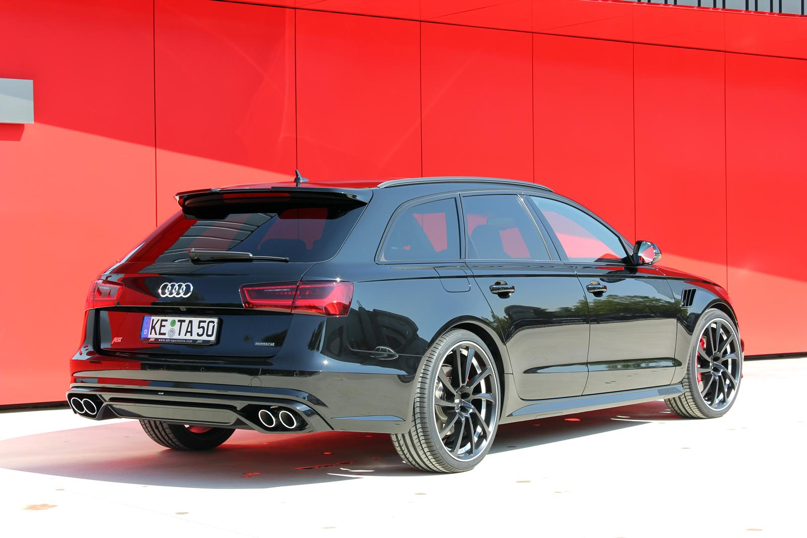 audi a6 facelift tuned by abt sportsline autoevolution. Black Bedroom Furniture Sets. Home Design Ideas