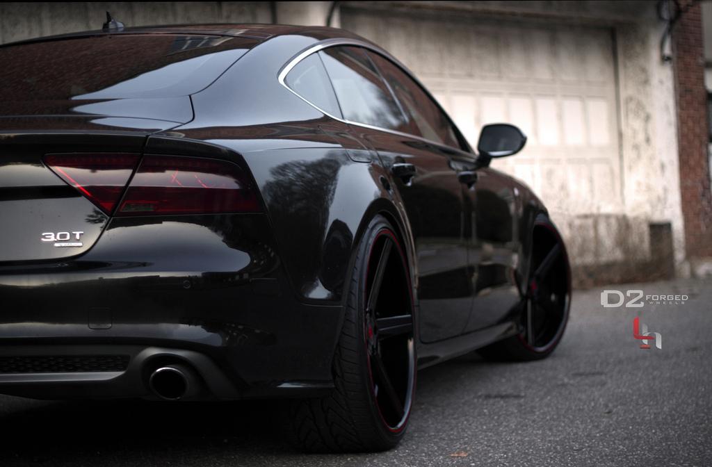 Audi A7 Gets D2forged Concave Wheels Autoevolution
