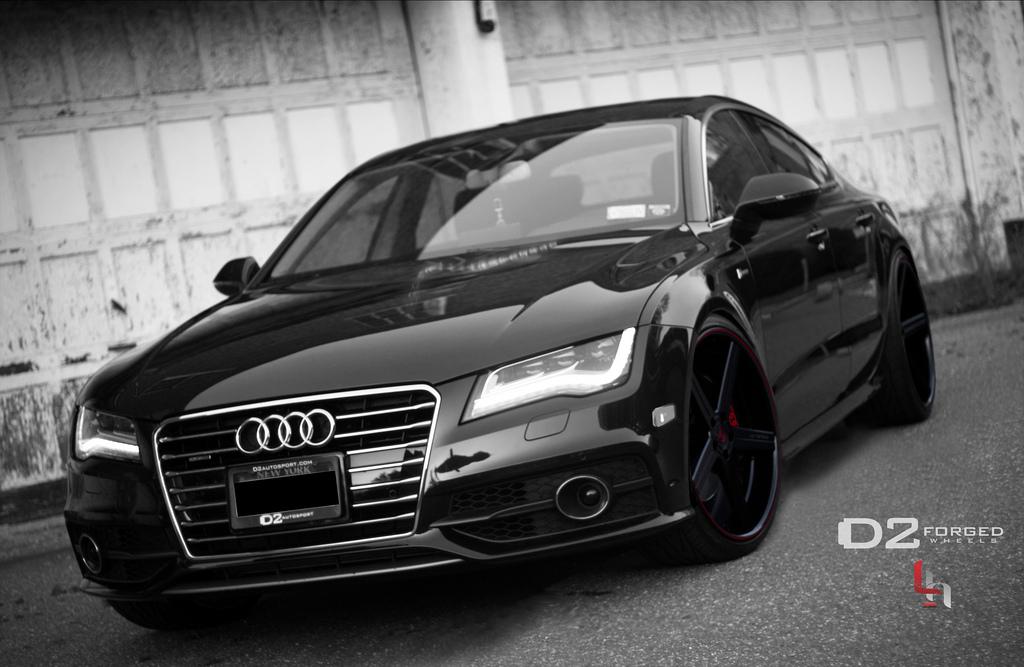 Audi A7 Sportback >> Audi A7 Gets D2Forged Concave Wheels - autoevolution