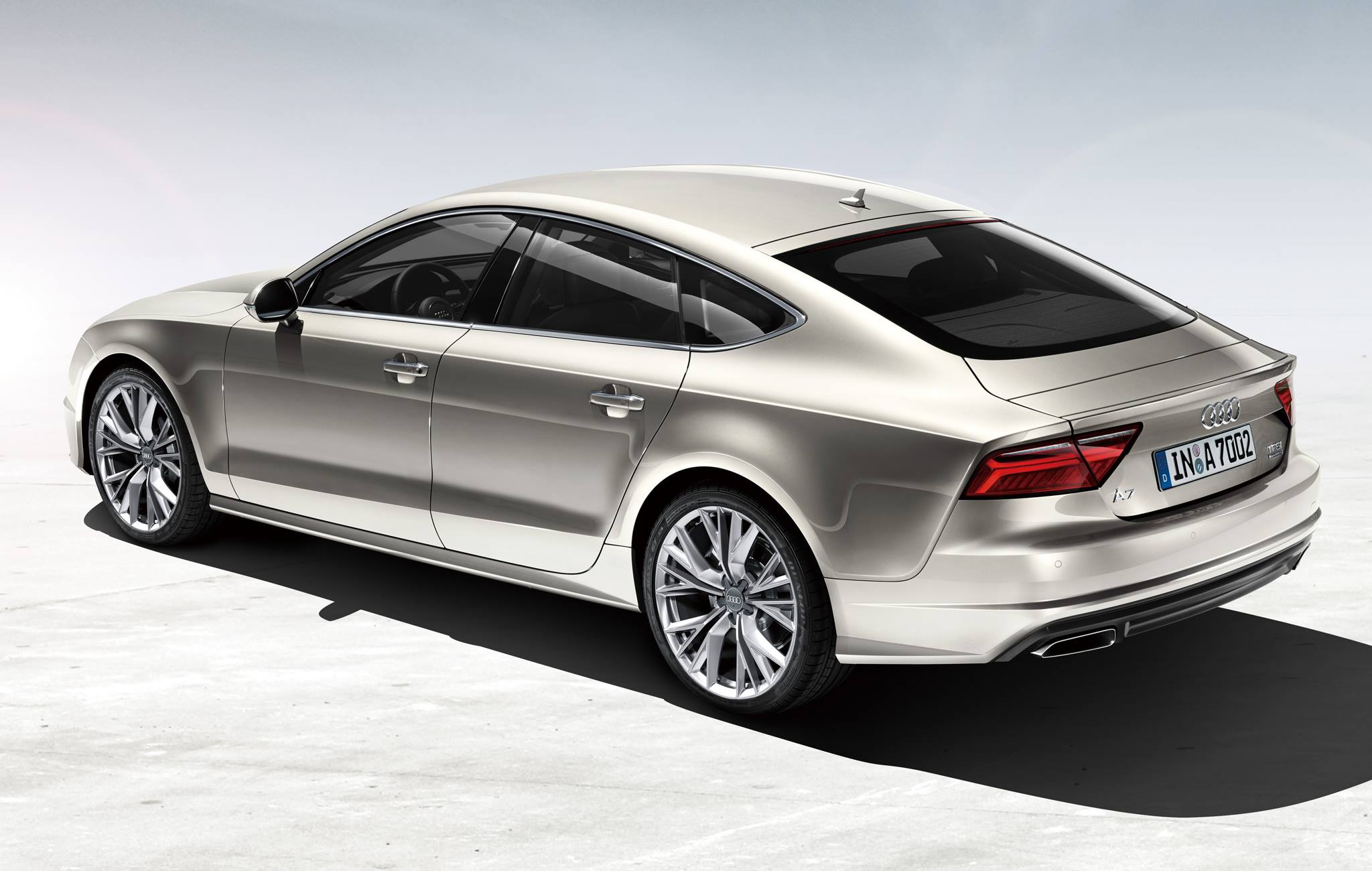 audi a7 sportback gets 2 0 tfsi quattro s tronic setup in. Black Bedroom Furniture Sets. Home Design Ideas