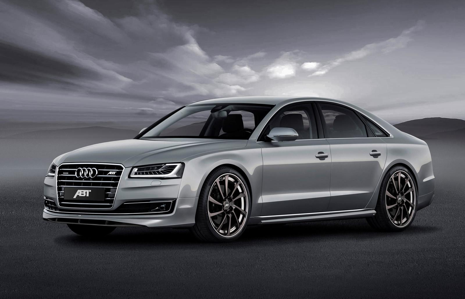 audi a8 facelift tuned to 540 hp by abt sportsline. Black Bedroom Furniture Sets. Home Design Ideas