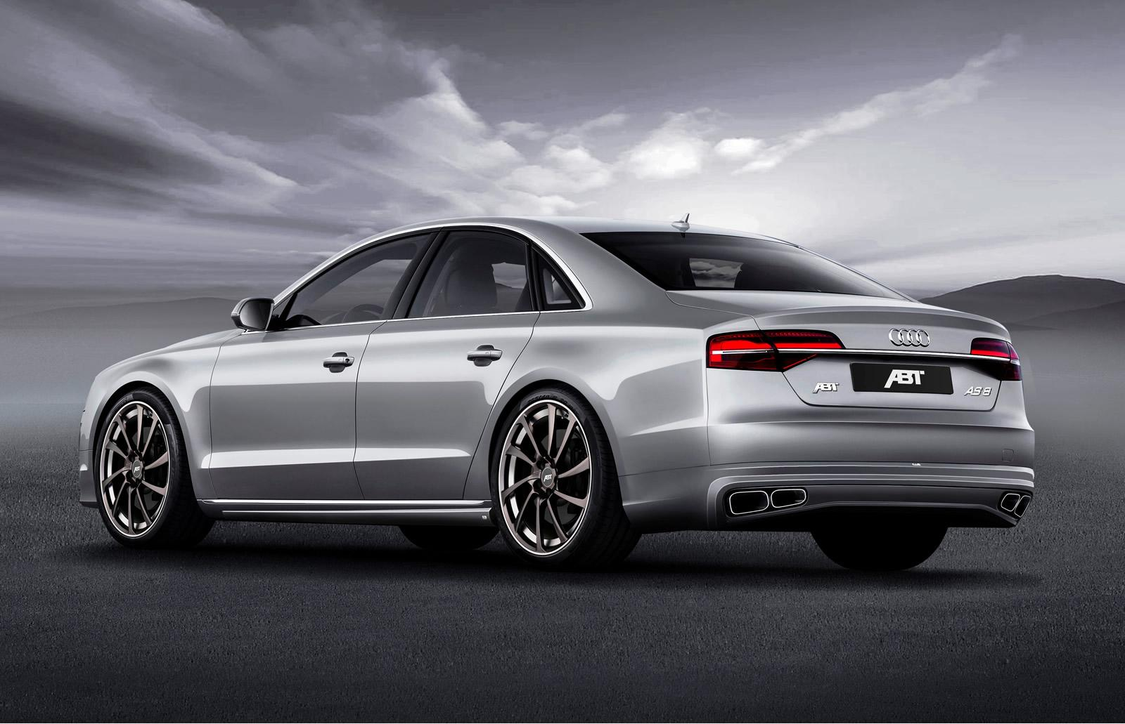 audi a8 facelift tuned to 540 hp by abt sportsline autoevolution. Black Bedroom Furniture Sets. Home Design Ideas