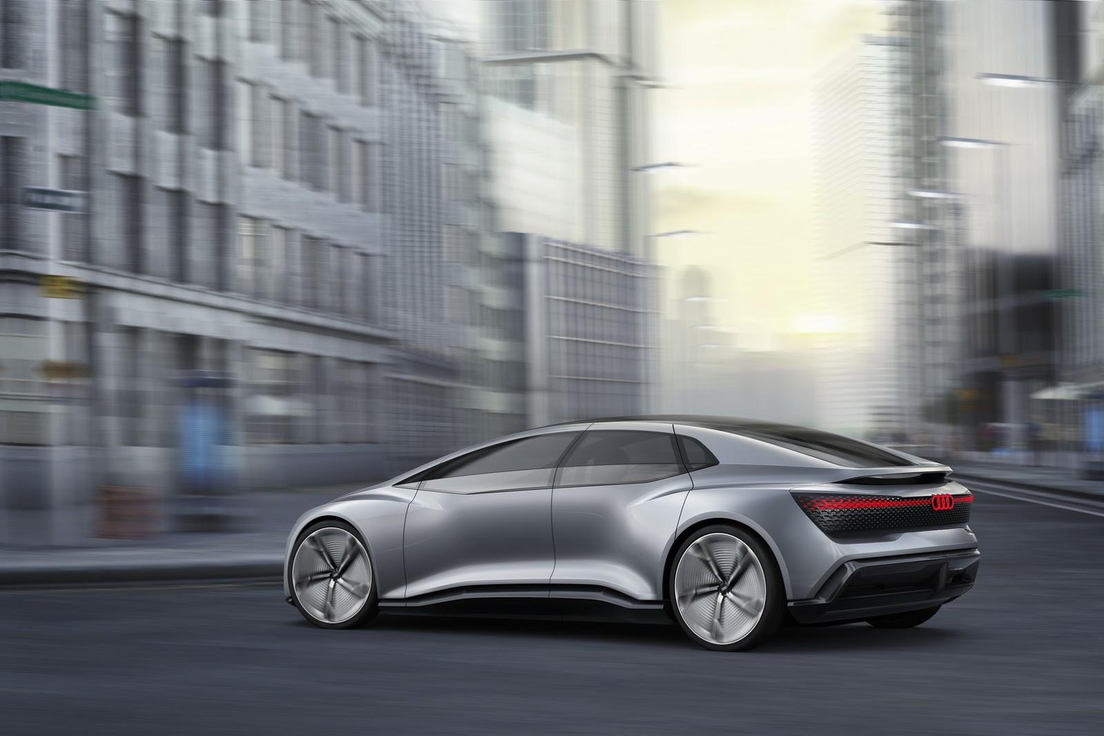 Audi Q6 E Tron >> Audi Aicon Concept Is Another Autonomous EV, This Time Without a Steering Wheel - autoevolution