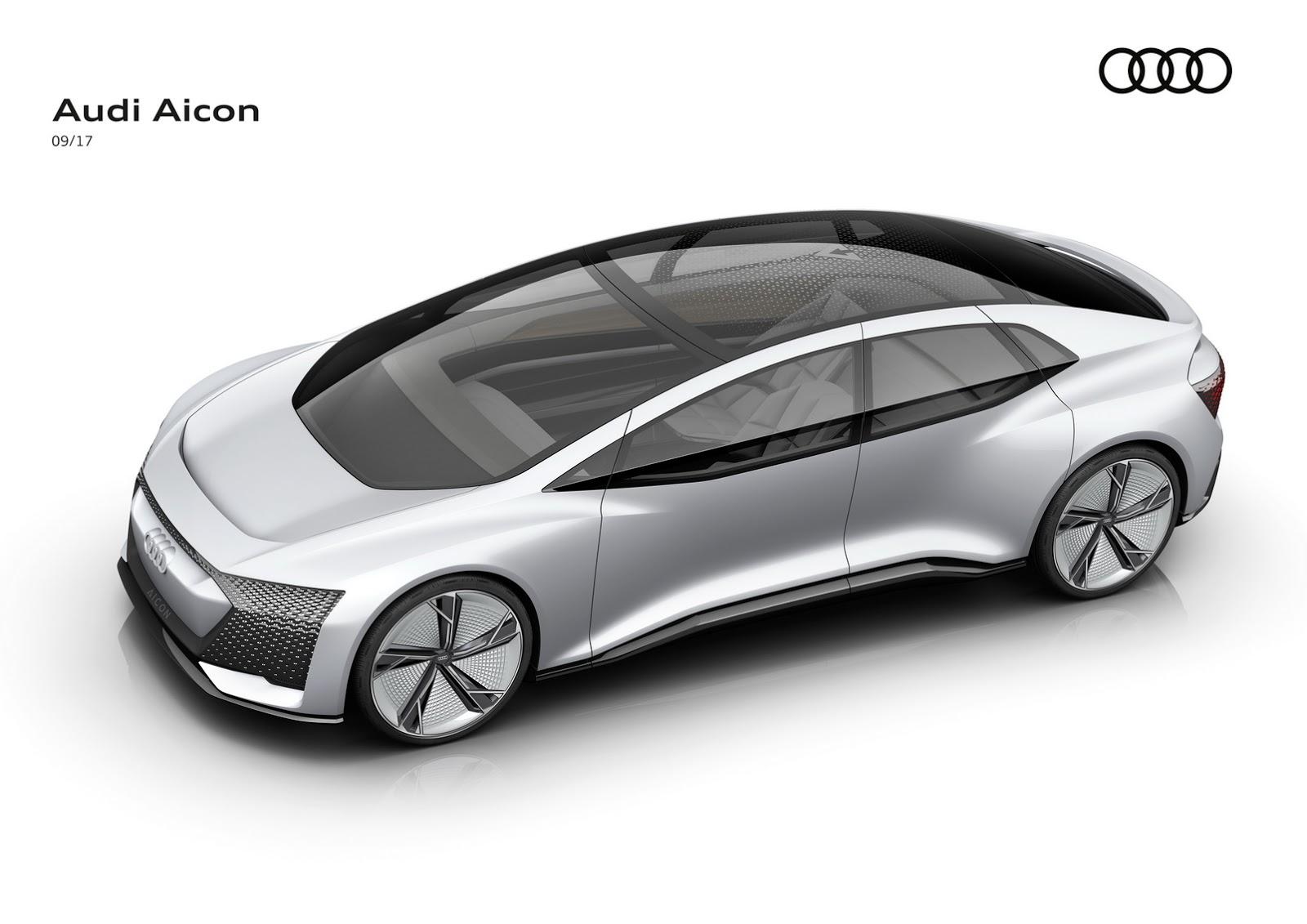 audi aicon concept is another autonomous ev, this time without a