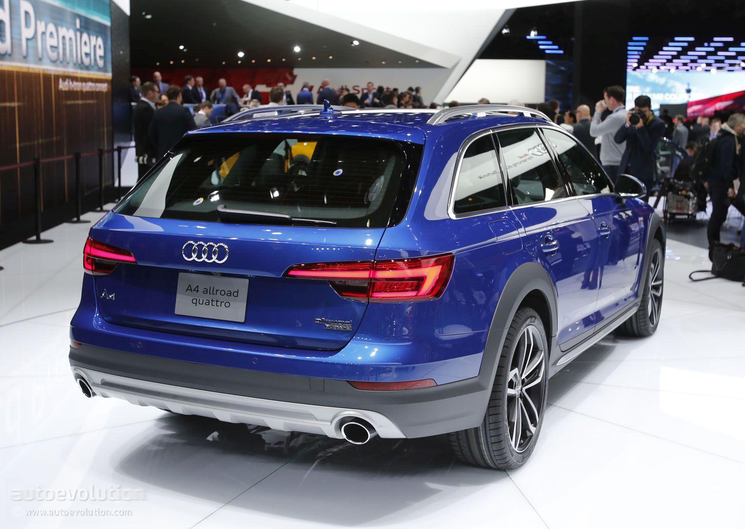 2017 Audi A4 Allroad Quattro Offers a Refined SUV Alternative in Motor City - autoevolution