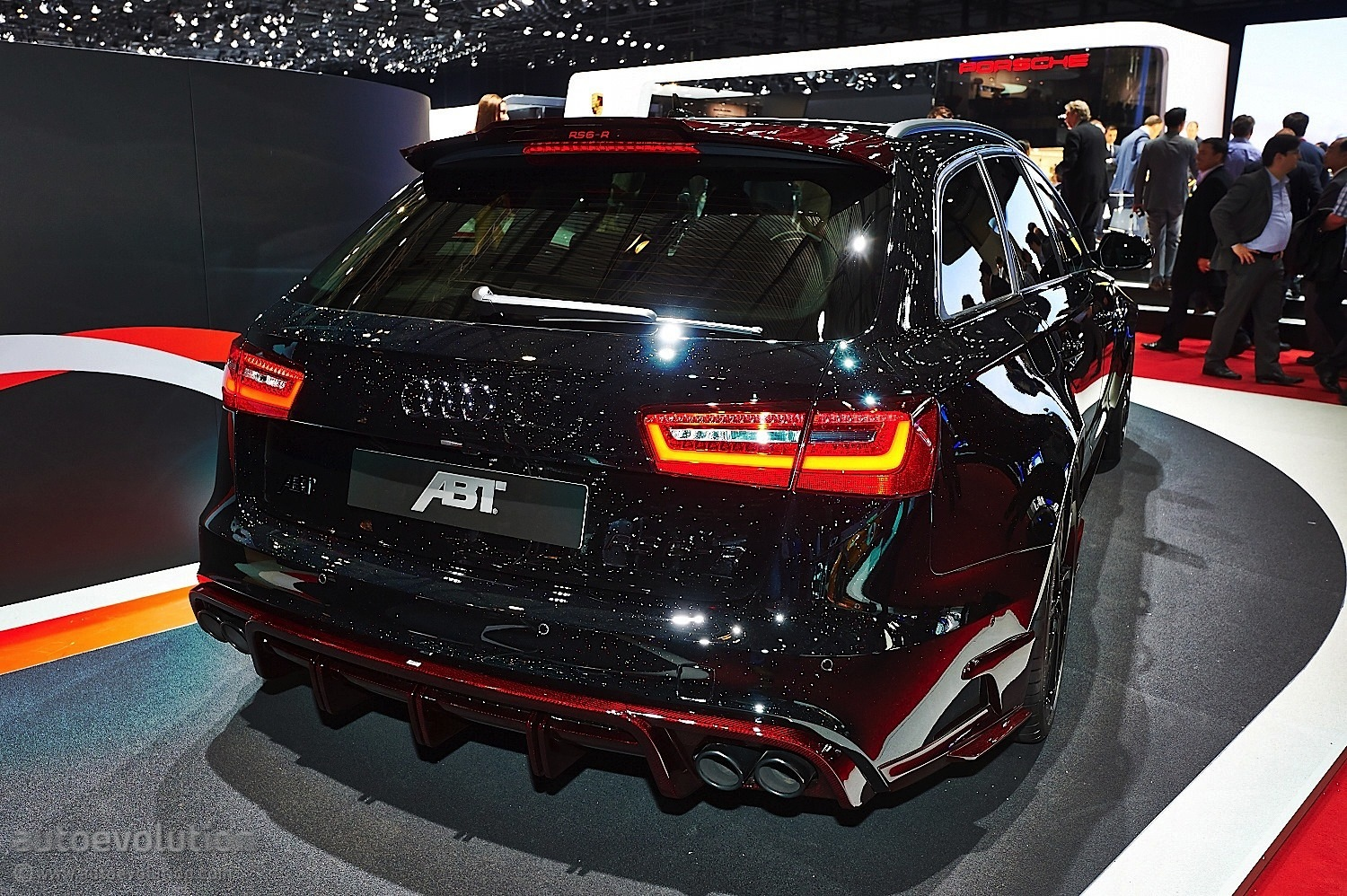 ... More Power in Geneva with New Audi RS6-R [Live Photos] - autoevolution