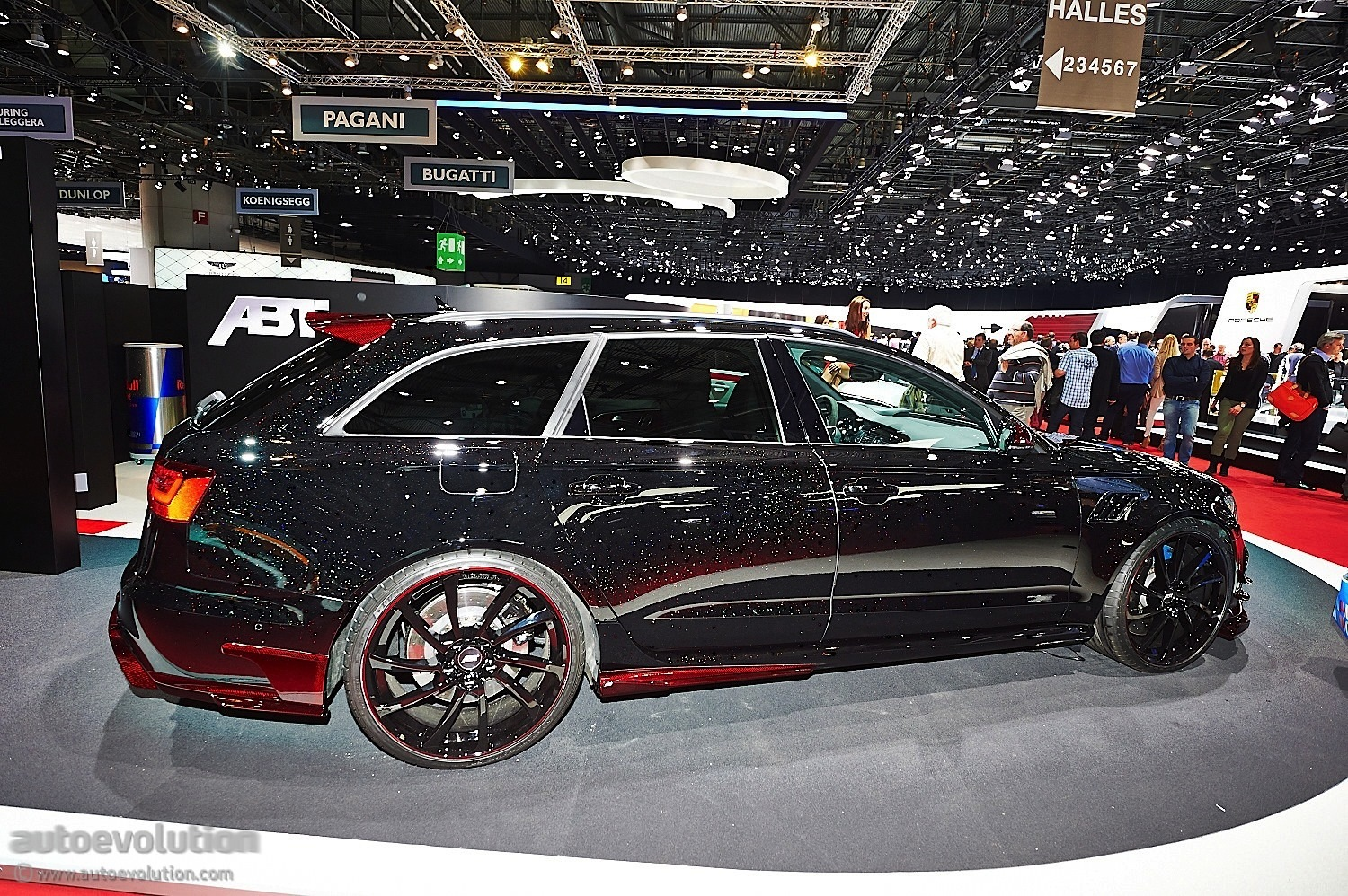 abt brings more power in geneva with new audi rs6 r live photos autoevolution. Black Bedroom Furniture Sets. Home Design Ideas