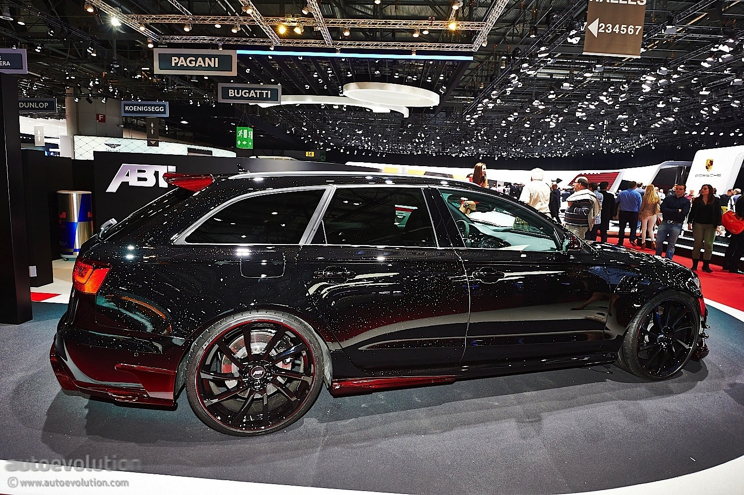 Abt Brings More Power In Geneva With New Audi Rs6 R Live