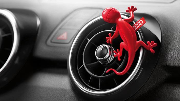 Audi Discovers Gecko Fragrance Sells It As Car Air