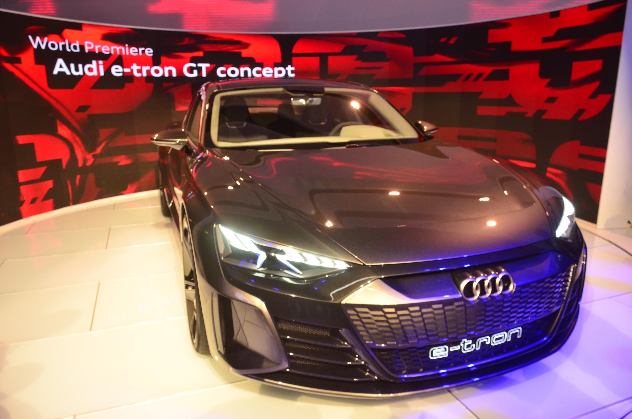 Tony Stark Confirms Audi E Tron Gt For Avengers Endgame Autoevolution
