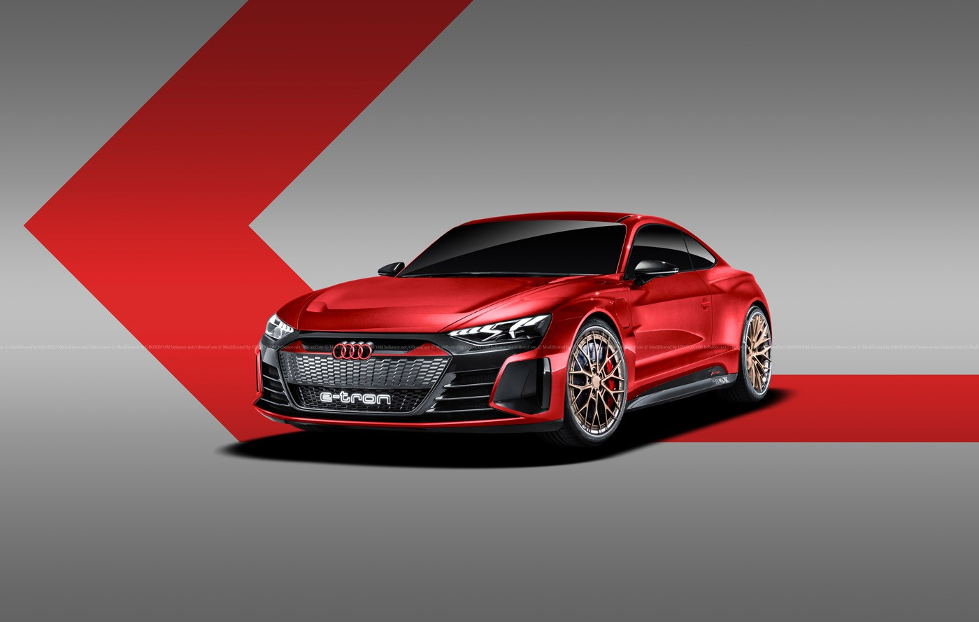 Audi e-tron GT Rendered as Shooting Brake, Coupe, and ...