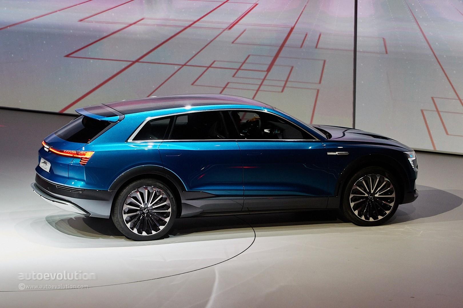 Audi e-tron quattro Concept Is a Tesla Rival in Sexy SUV Form - autoevolution