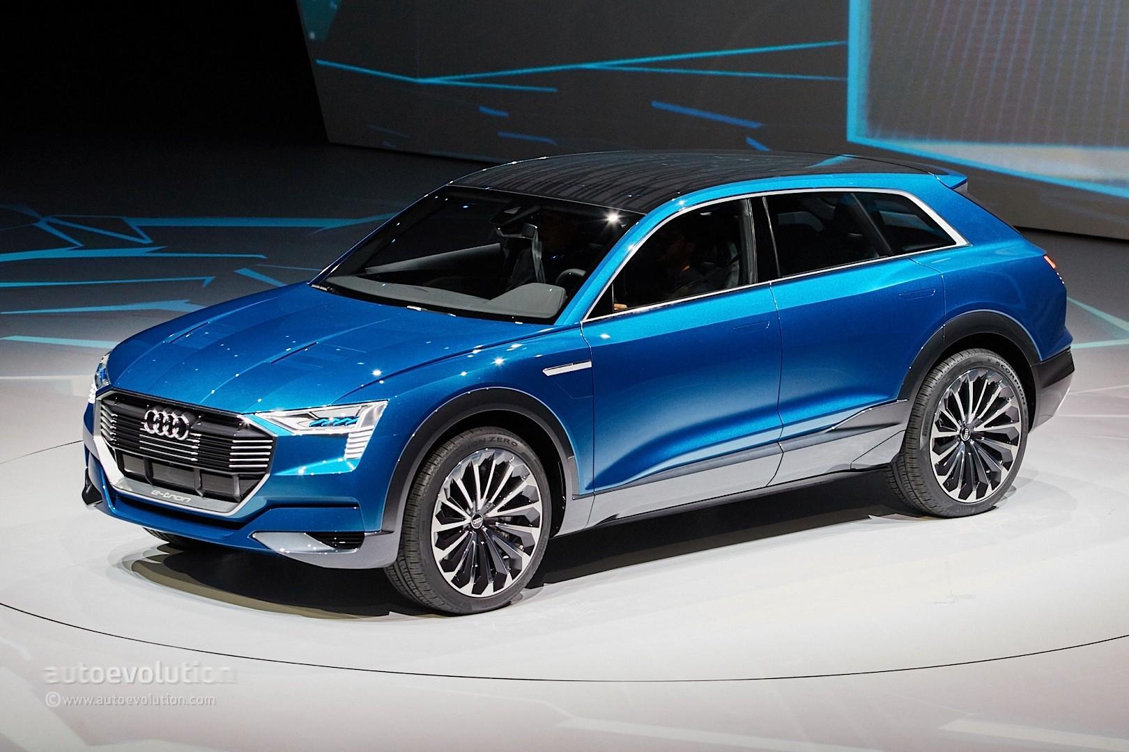 Audi E Tron Quattro Concept Is A Tesla Rival In Sexy Suv