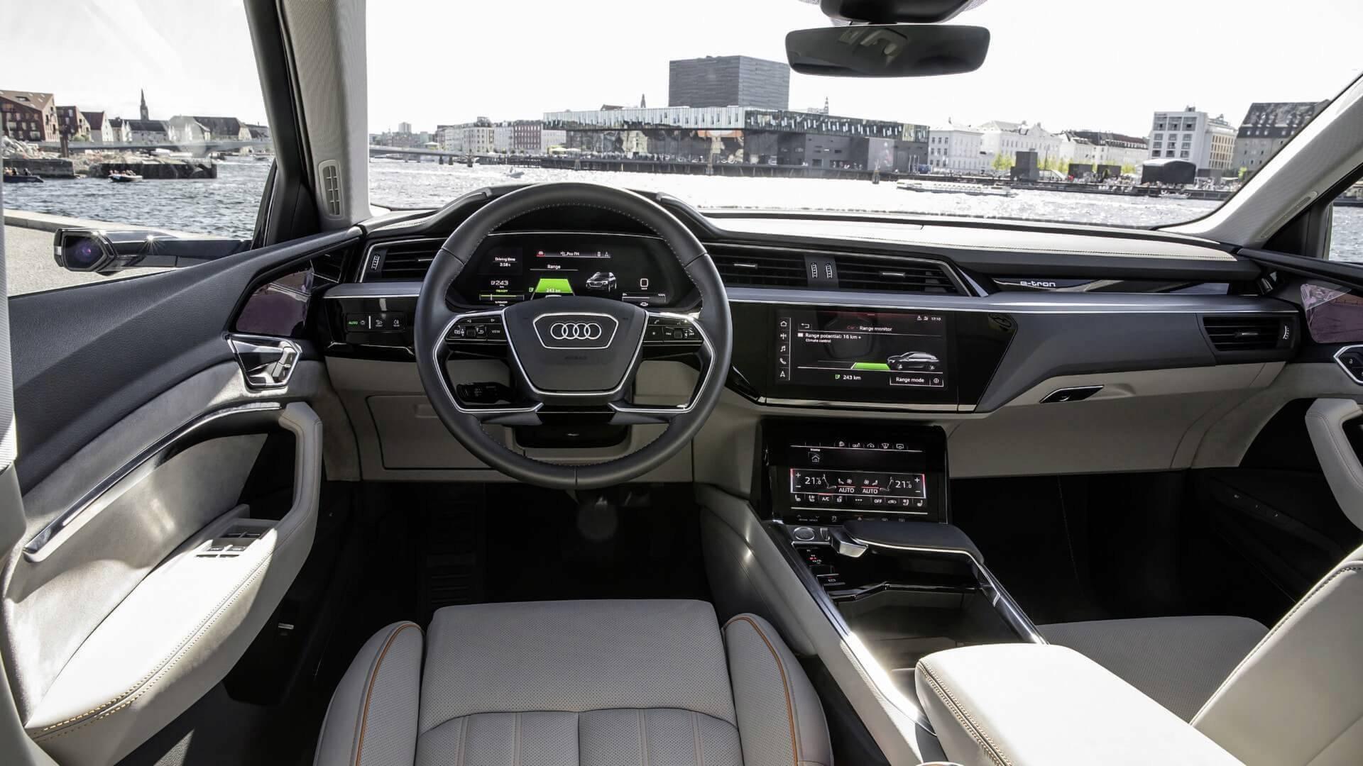 ... 2019 Audi E Tron Electric SUV ...