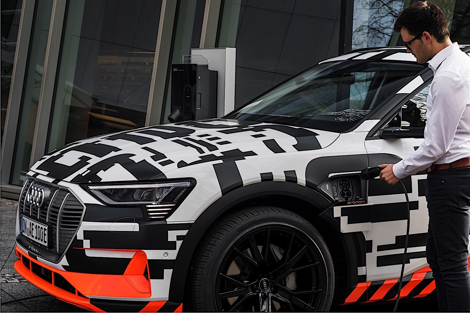 Audi's e-tron SUV drives a modest 248 miles per charge