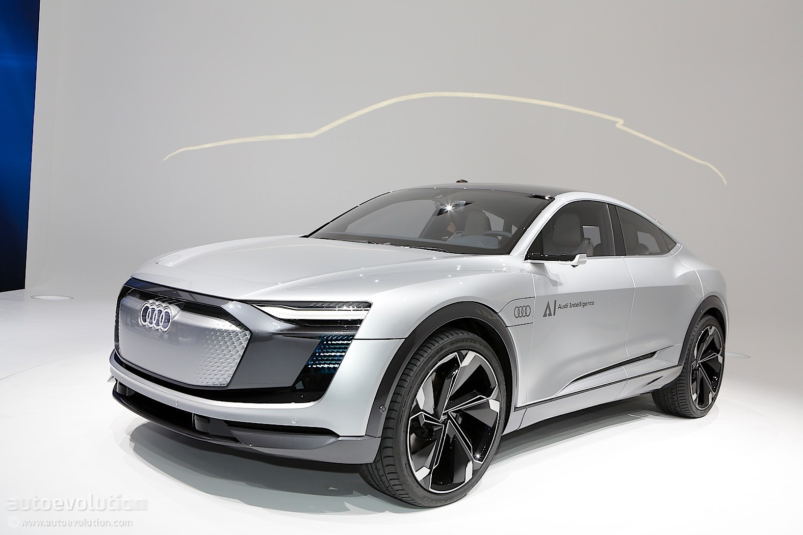 audi elaine concept is an autonomous chip off the old block autoevolution. Black Bedroom Furniture Sets. Home Design Ideas