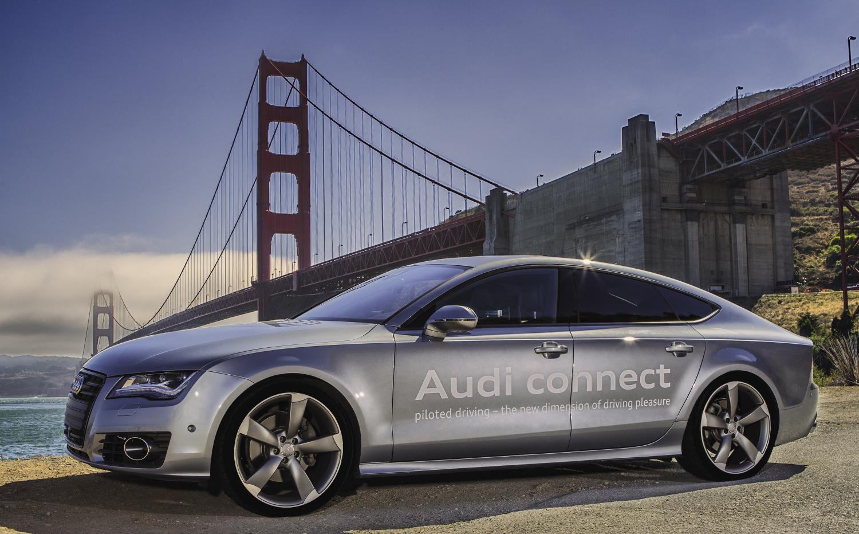 Фото | Audi A7 Sportback с автопилотом