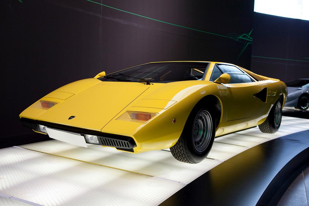 Audi Forum Features Lamborghini Prototype Exhibition on Lamborghini Family Car