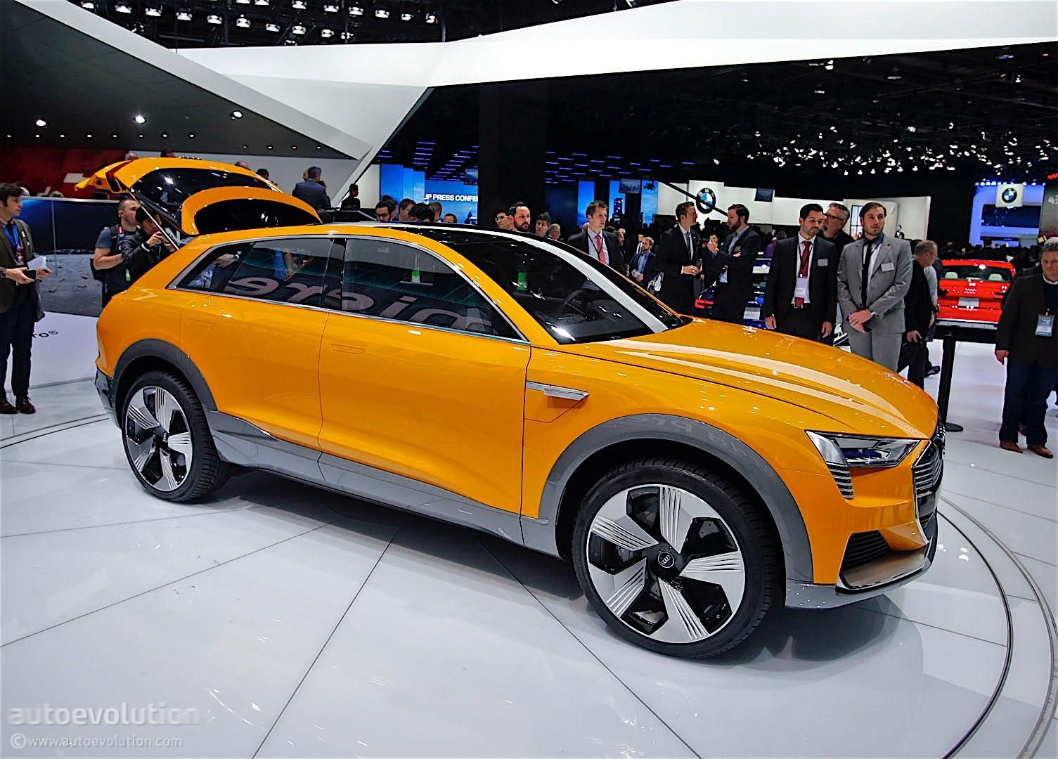 Audi H-Tron Quattro Concept Brings Yellow In Detroit