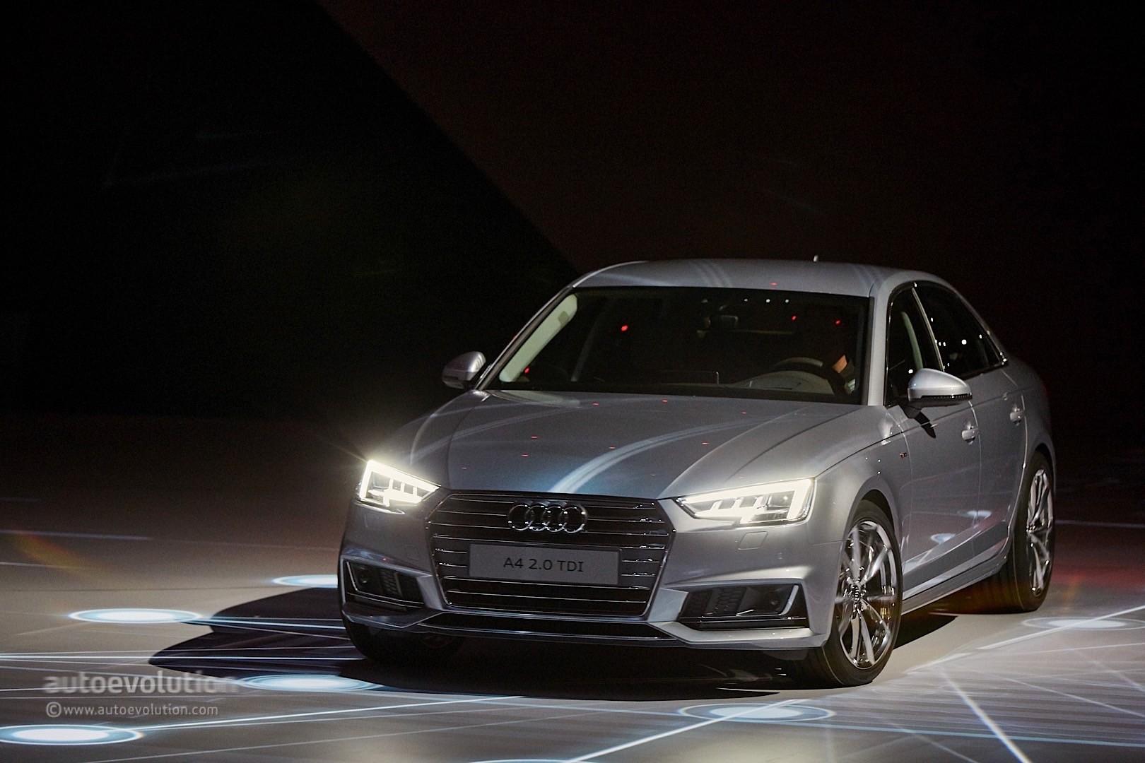 Audi a4 g tron and a4 ultra at frankfurt