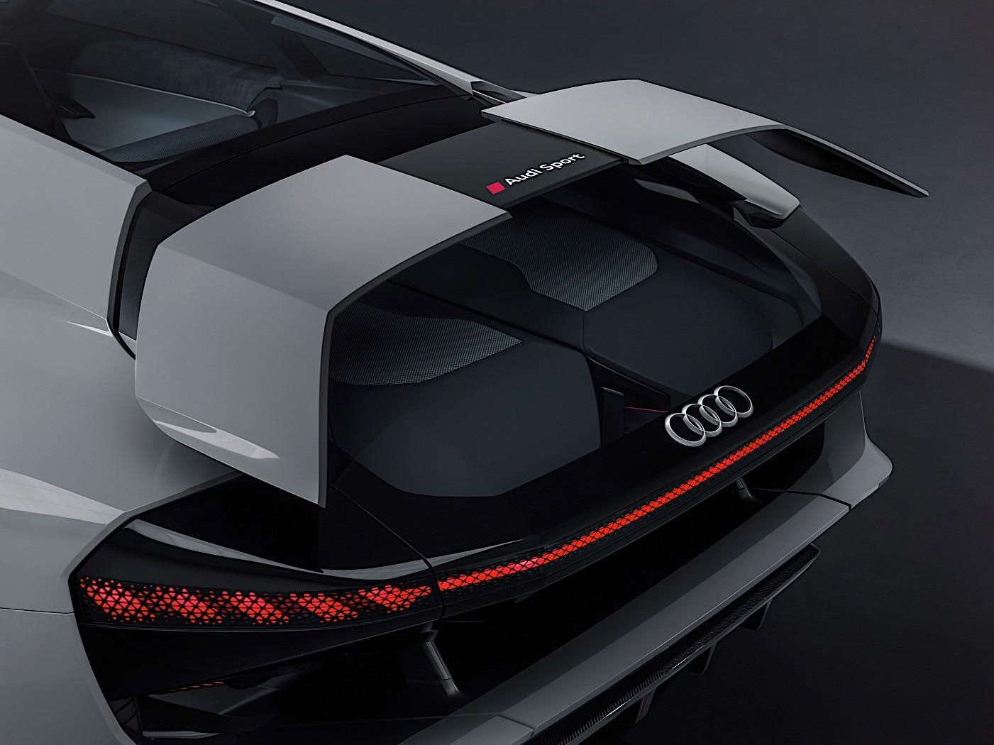 Audi Pb18 E Tron Concept Car Is A Californian Nod To Le