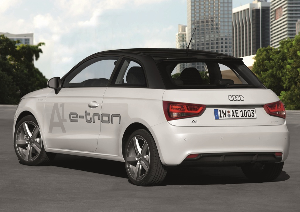 audi presents a1 e tron with extended range gallery autoevolution. Black Bedroom Furniture Sets. Home Design Ideas
