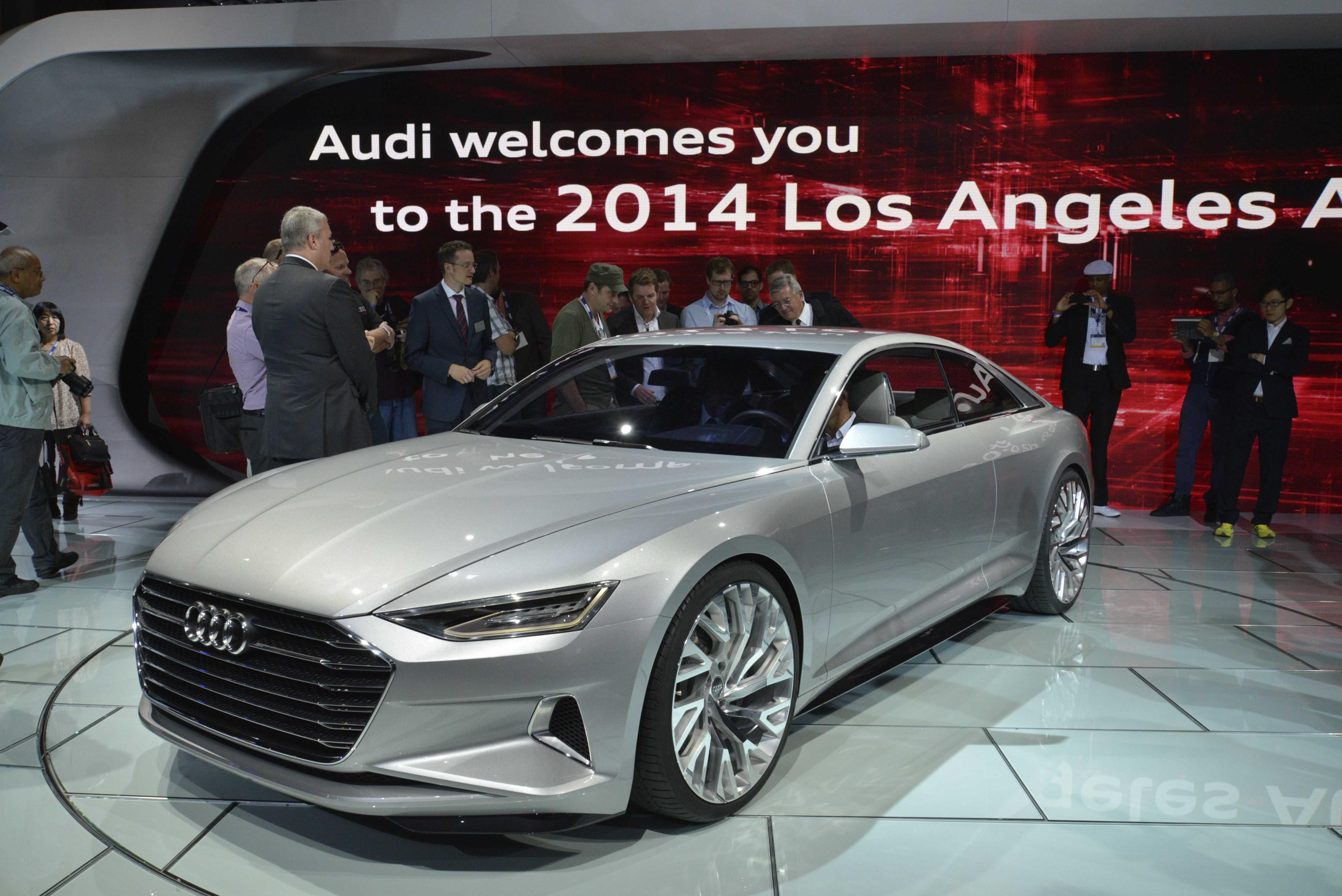 Audi Prologue Concept Is an S-Class Coupe Rival in the Making [Video ...